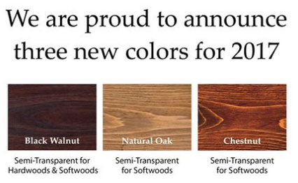 New Colors Armstrong Clark Stains