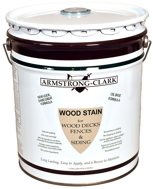 Armstrong Clark Wood Deck Stain 5 Gallon