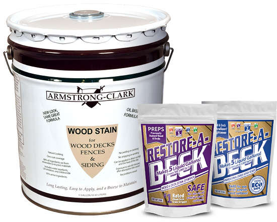Armstrong Clark Deck Stain And Stripper Kit